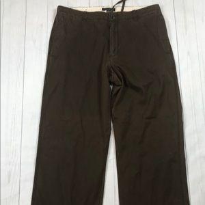 BANANA REPUBLIC Dawson Chino Pants 35/31 Brown